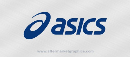 Asics Shoes Decal