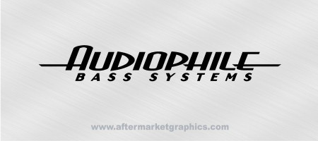 Audiophile Bass Decals