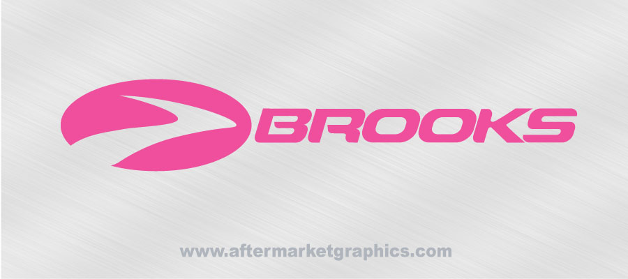 Brooks Shoes Decal 01