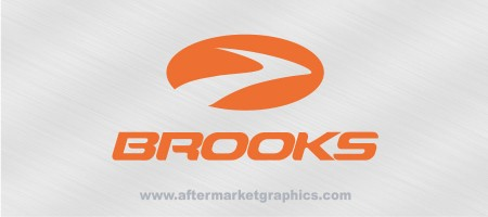 Brooks Shoes Decal 02