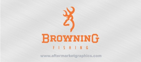 Browning Fishing Decals