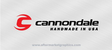 Cannondale Bikes Decal