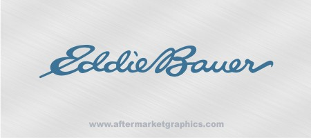 Eddie Bauer Decal