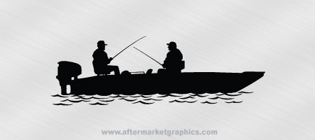 Fishing Boat Decal