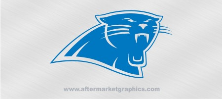 Carolina Panthers Decal