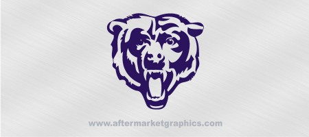 Chicago Bears Decal 02