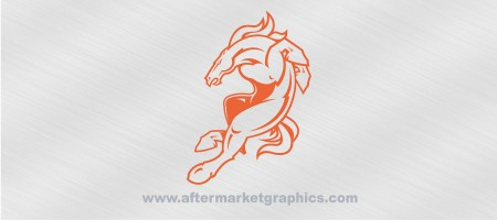 Denver Broncos Decal 02