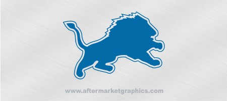 Detroit Lions Decals