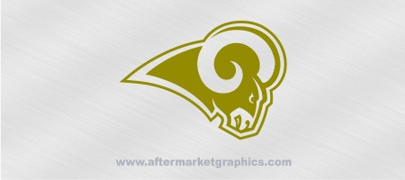 St Louis Rams Decal