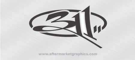 311 Decal