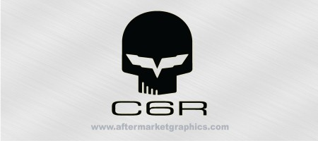 Corvette C6R Decals 01 - Pair