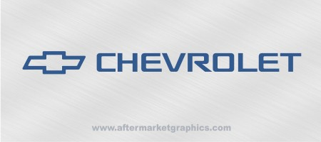 Chevrolet Decals 04 - Pair
