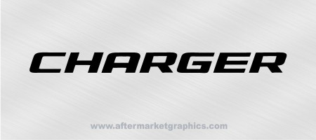 Dodge Charger Decals - Pair