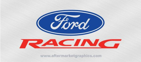 Ford Racing Decals - Pair