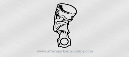Angry Piston Decal