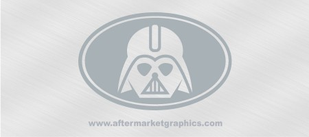Star Wars Darth Vader Euro Style Decal