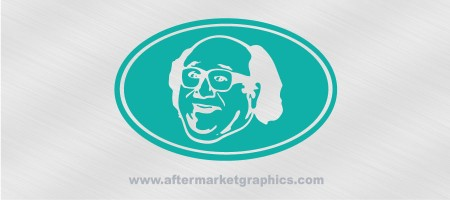 Frank Reynolds Euro Style Decal