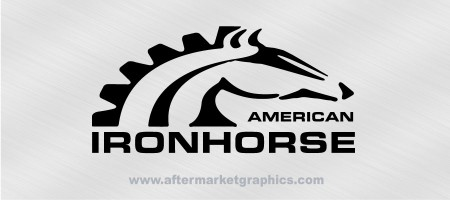 American Ironhorse Decals - Pair