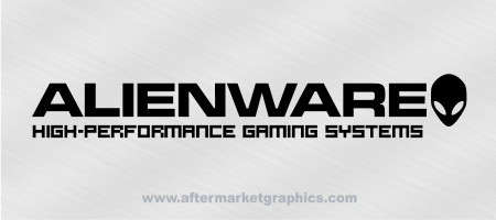 Alienware Gaming Systems Decals