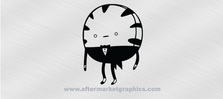 Adventure Time Peppermin Butler Decal