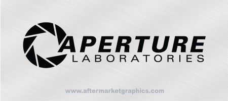 Aperture Science Decal