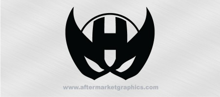 Avengers Hawkeye Mask Decal