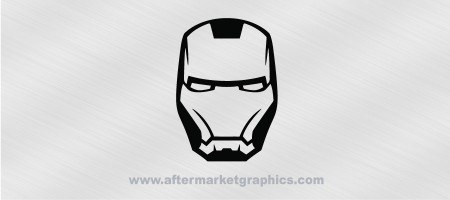 Avengers Iron Man Mask Decal