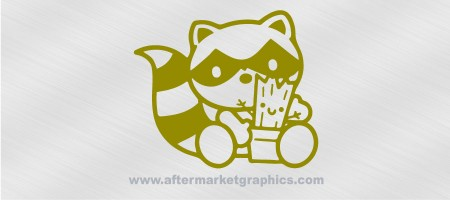 Baby Groot and Rocket Decal