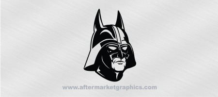 Batman Darth Vader Mashup Decal