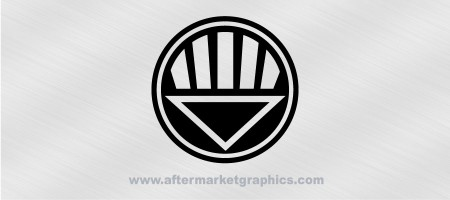Black Lantern Corps Decal