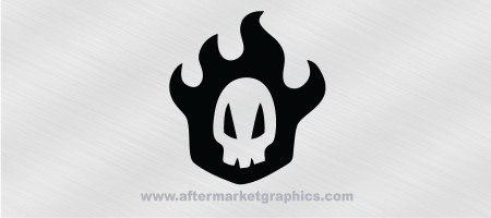 Bleach Rukia Skull Decal