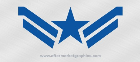 Captain America Star Decal