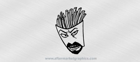 Aqua Teen Hunger Force Frylock Decal