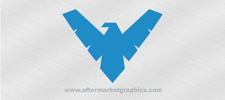 Batman Robin Nightwing Decal