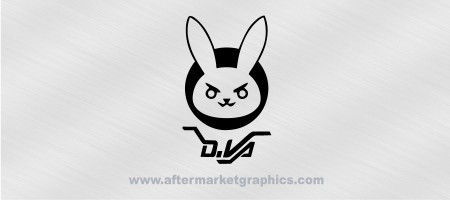 Overwatch D Va Decal 02