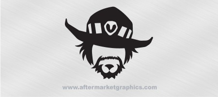 Overwatch McCree Decal