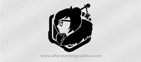 Overwatch Mei Decal 02