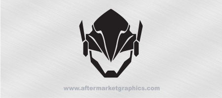Overwatch Pharah Decal