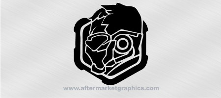 Overwatch Soldier 76 Decal 02