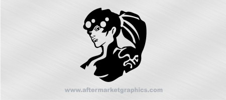 Overwatch Widowmaker Decal 02
