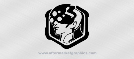 Overwatch Widowmaker Decal 03