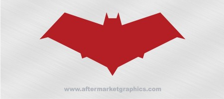 Batman Robin Red Hood Decal