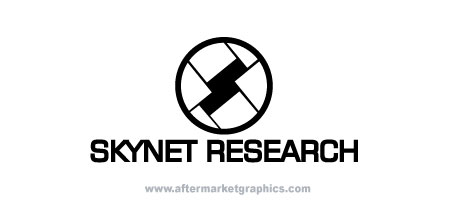 Skynet Research Terminator Decal
