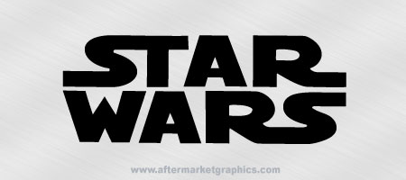 Star Wars Decal