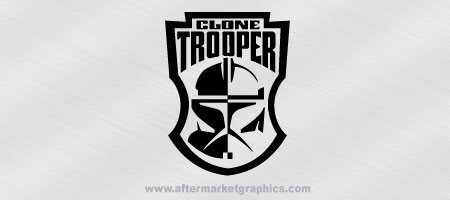 Star Wars Clone Troopers Decal