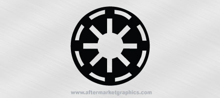 Star Wars Galactic Republic Decal