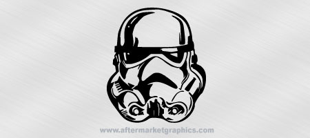 Star Wars Storm Trooper Decal 01