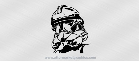 Star Wars Storm Trooper Decal 02