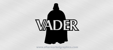 Star Wars Darth Vader Silhouette Decal