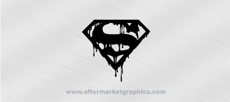 Superman Death Decal